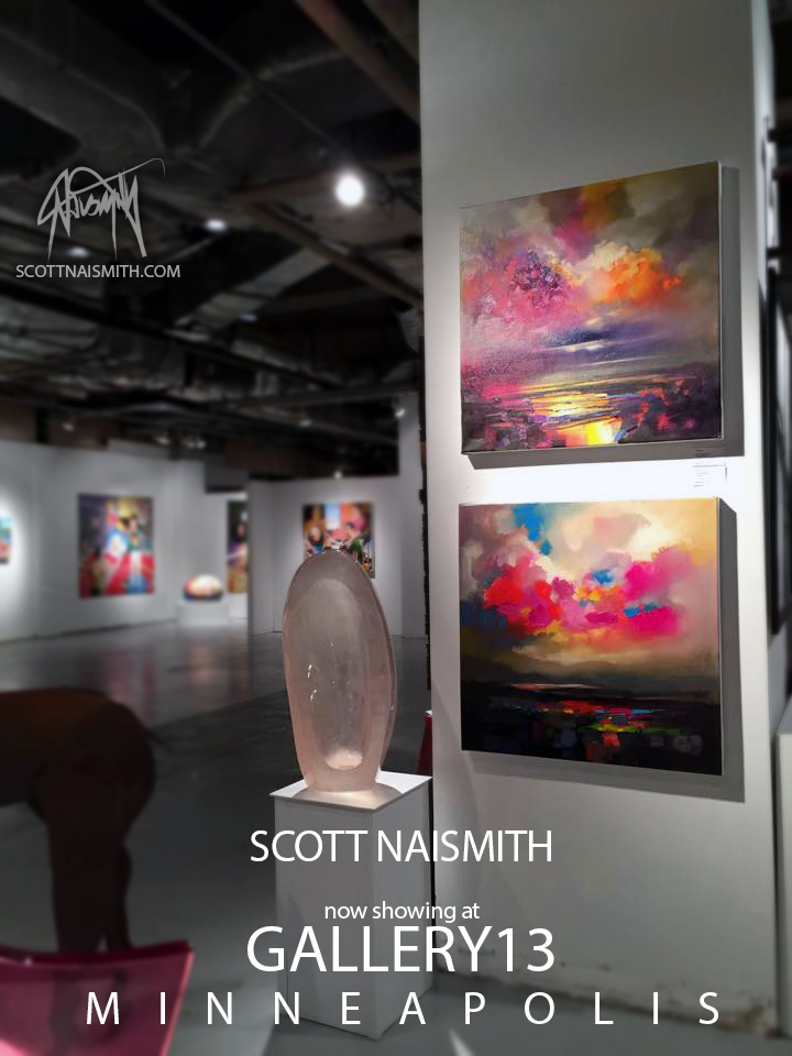 Scott Naismith in Gallery 13 Minneapolis