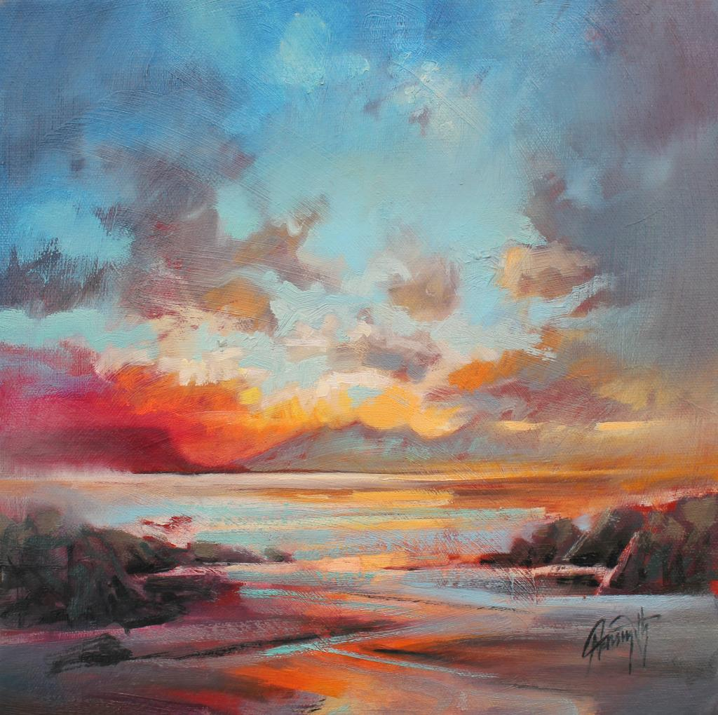 Red Eigg by Scott Naismith