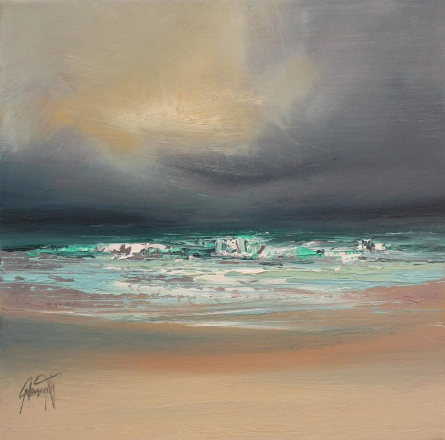 Vatersay Shore print by Scott Naismith