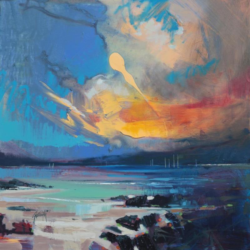 Blustery Sky .Hebrides