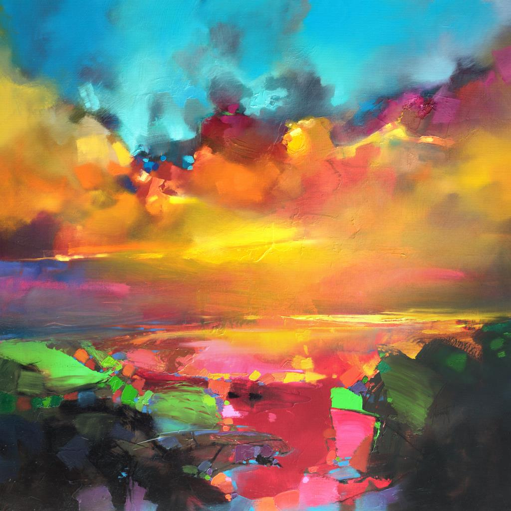 Consonance And Disonance 90cm oil painting by Scott Naismith