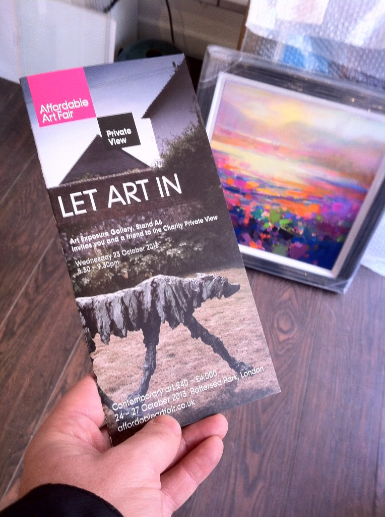 AAF London Preview Invite