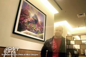Glencoe with Scott Naismith at the Hilton Glasgow