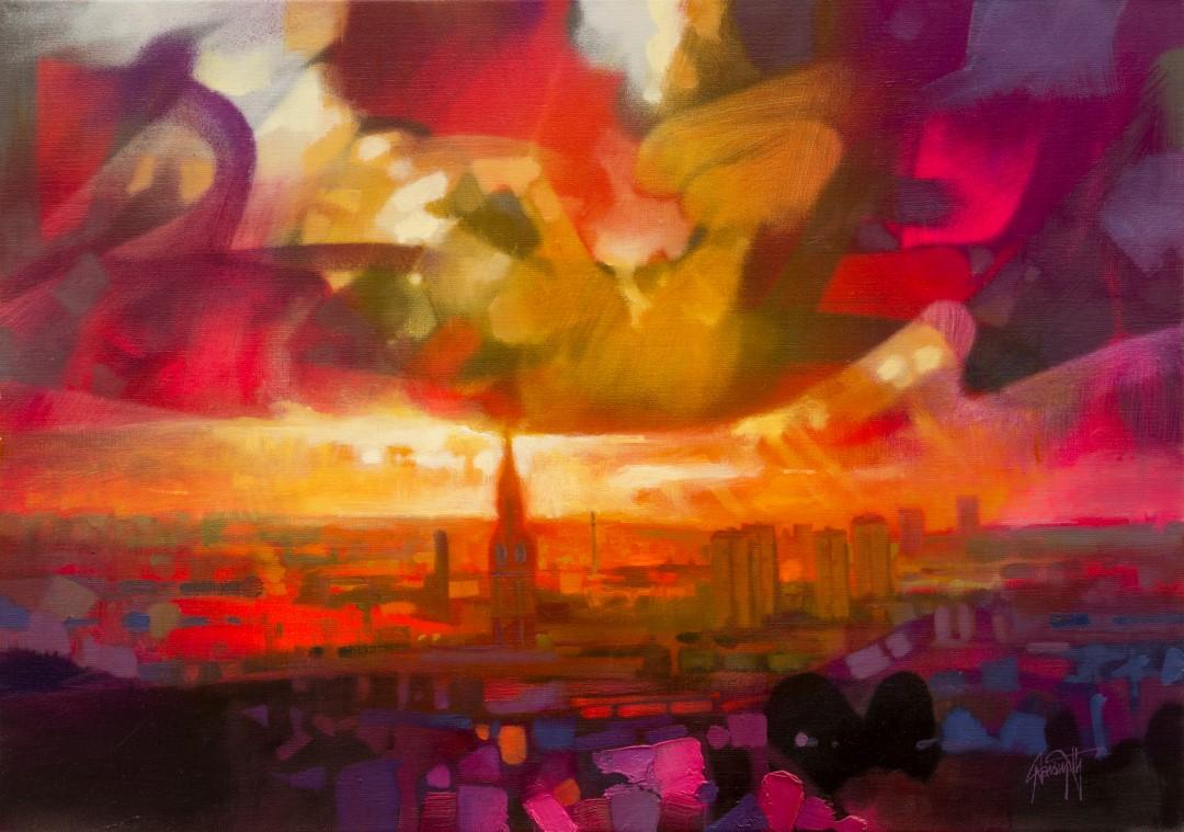 Glasgow Skyline by Scott Naismith