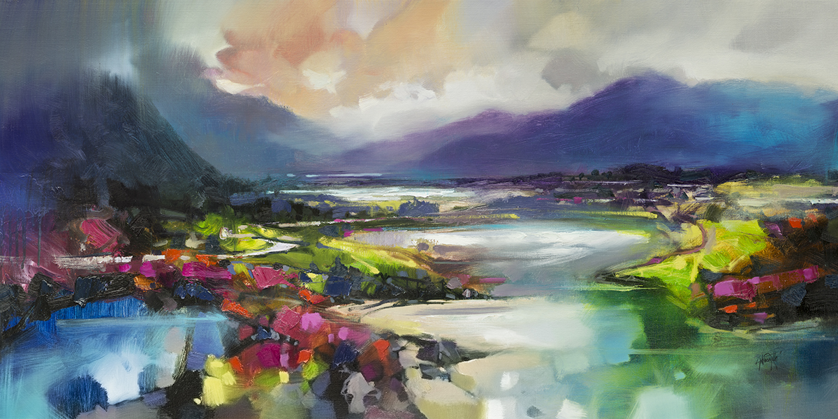 120 x 60cm Highland Light and Shade by Scott Naismith
