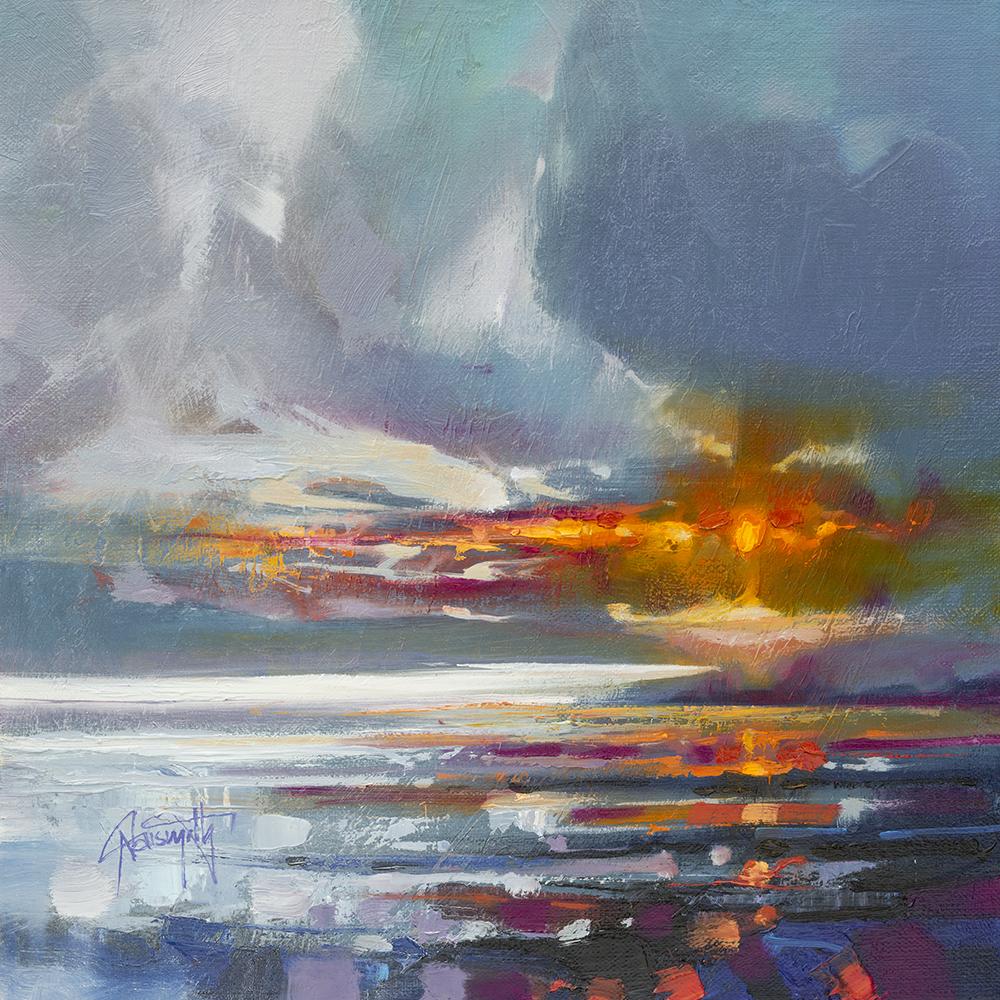 30cm Laggan Sunset Study