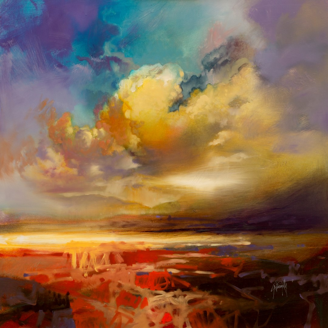 60cm Silver Lining by Scott Naismith