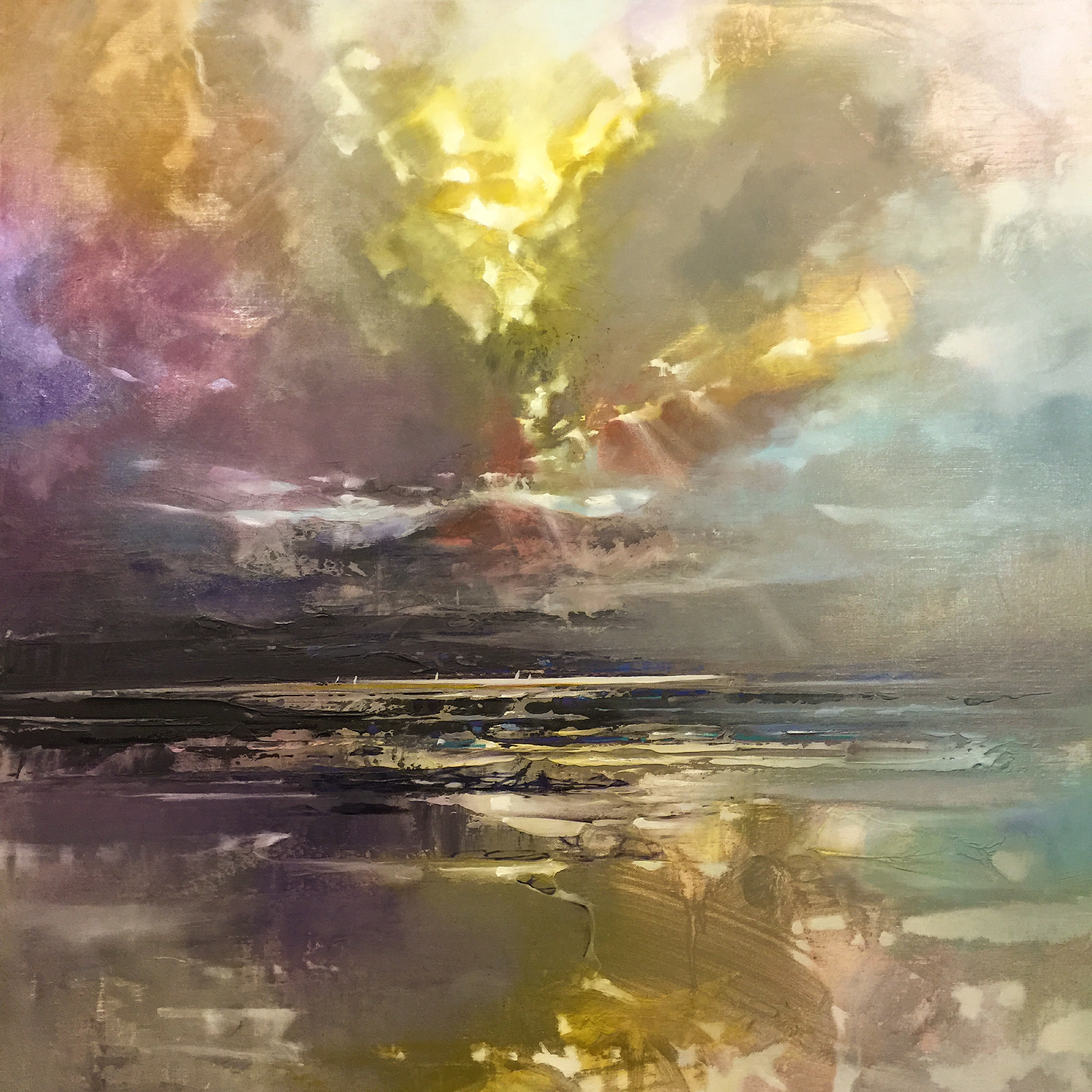 80cm Breaking Through by Scott Naismith
