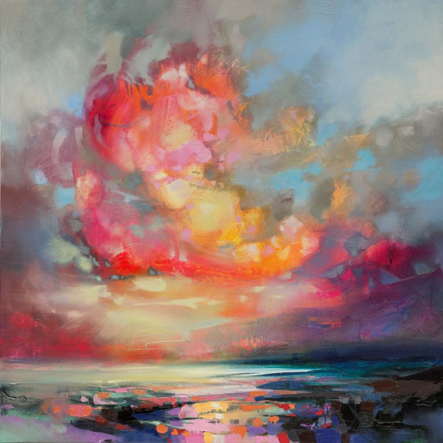 Molecular Magenta by Scott Naismith - Limited Edition Paper Print