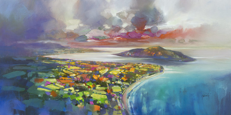 Whiting Bay by Scott Naismith - Limited Edition Paper Print