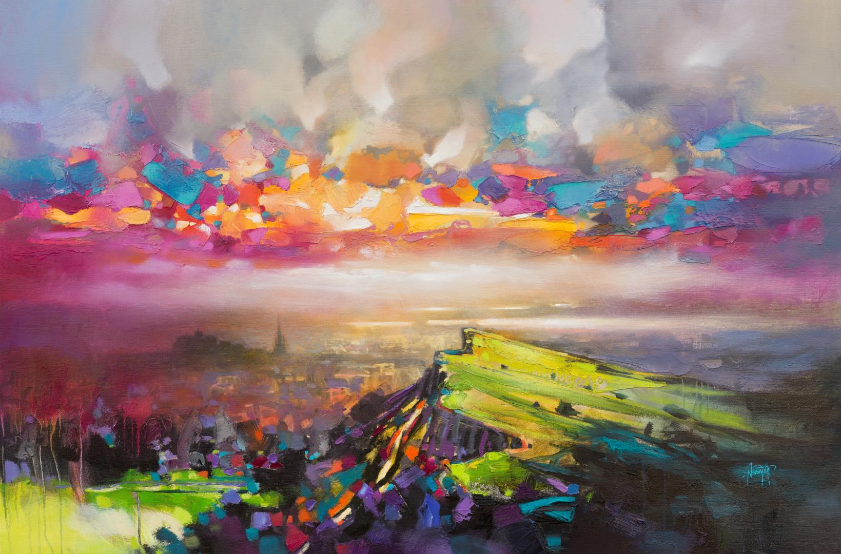 Edinburgh Sky print