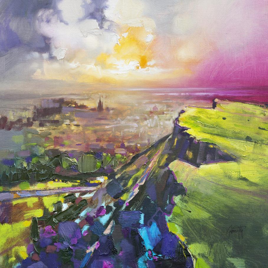 Salisbury Crags print