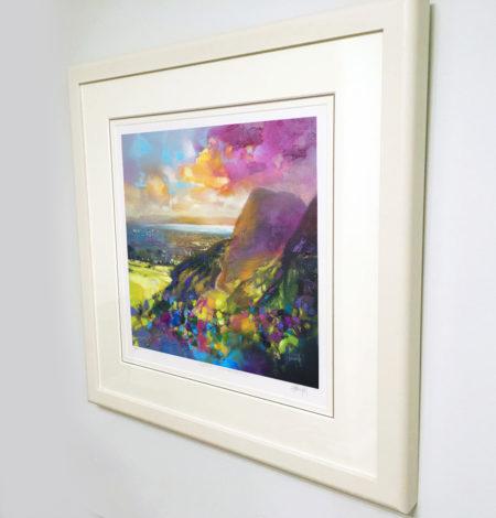 Arthurs Seat framed print