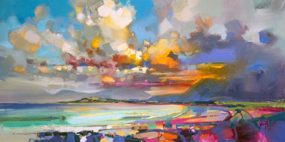 Luskentyre, Harris by Scott Naismith - Limited Edition Paper Print