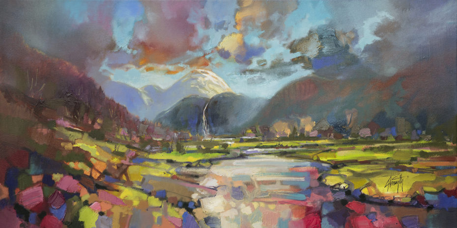 Ben Nevis by Scott Naismith - Limited Edition Paper Print