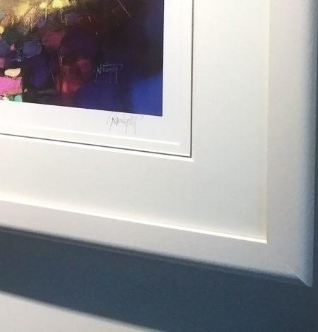 White Frame Corner