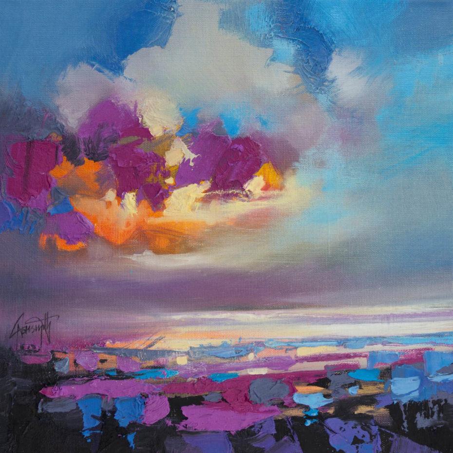 Magenta Sky Study 3 by Scott Naismith - Limited Edition Canvas Print