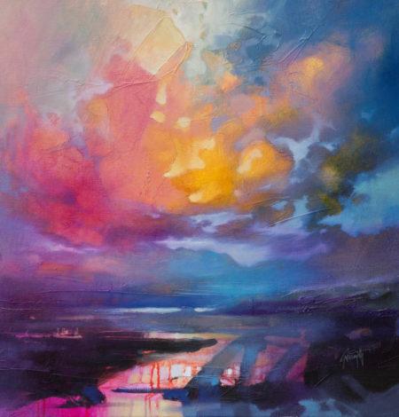 Achnasheen by Scott Naismith - Limited Edition Canvas Print