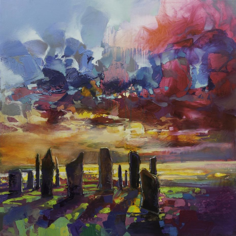 Callanish Stones, Limited Edition Paper Print by Scotland Naismith