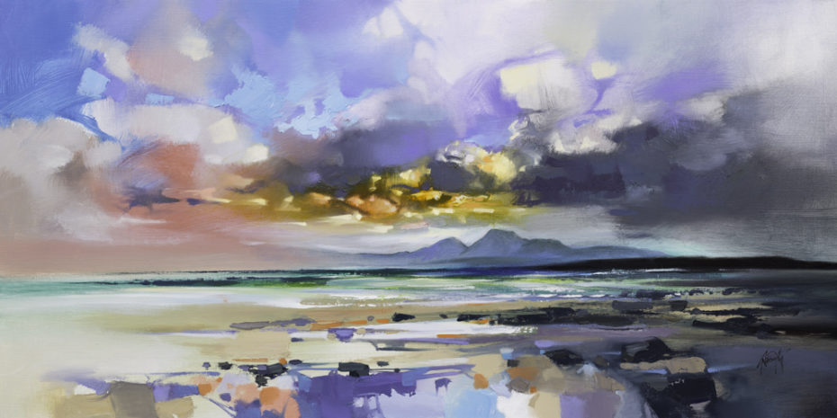 Jura from Kilmory by Scott Naismith