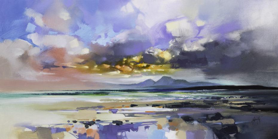 Jura from Kilmory by Scott Naismith