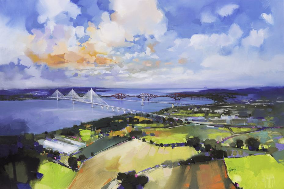 Queensferry Crossing by Scott Naismith