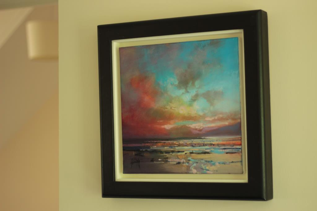 Framed Scottish Landscape Painting