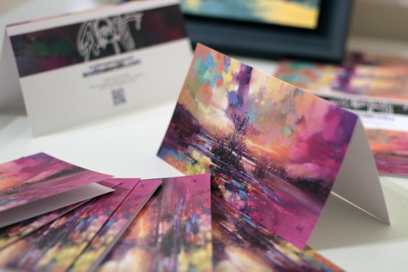 Loch Fyne Colour Card Display