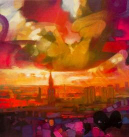 Glasgow Skyline by Scott Naismith