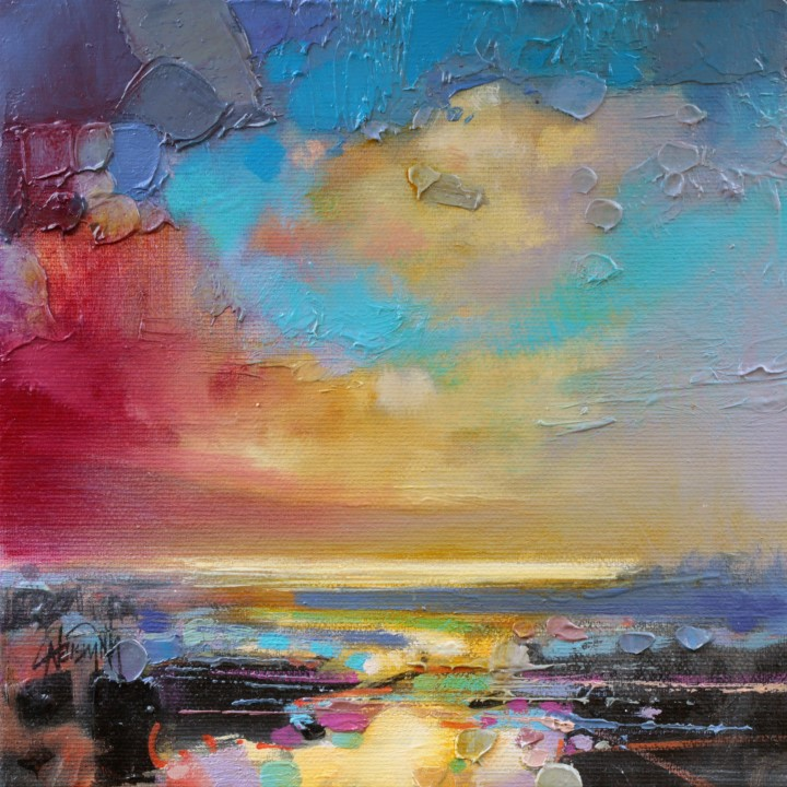 CMY Loch Study 1 by Scott Naismith