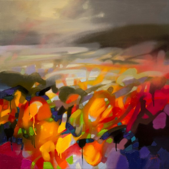 A New Hope abstract landscape painting by Scott Naismith