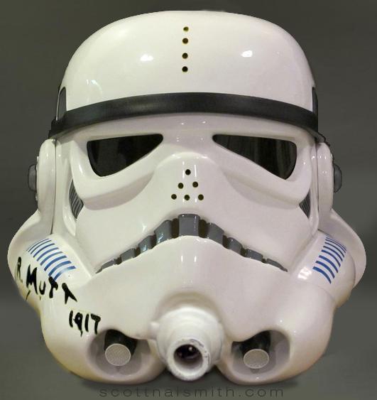 Stormtrooper Helmet Duchamp