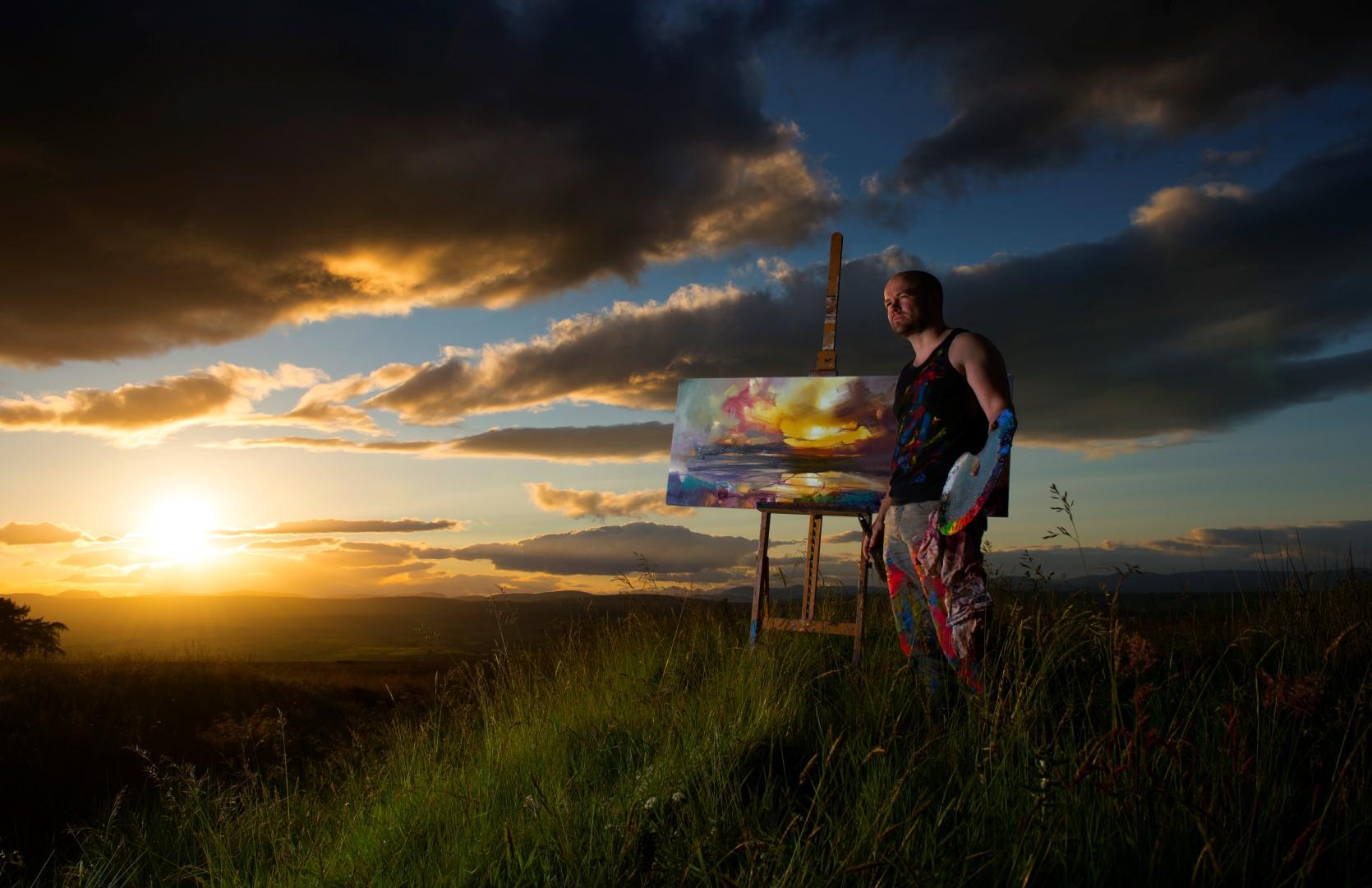 Scott Naismith Scottish Landscape artist