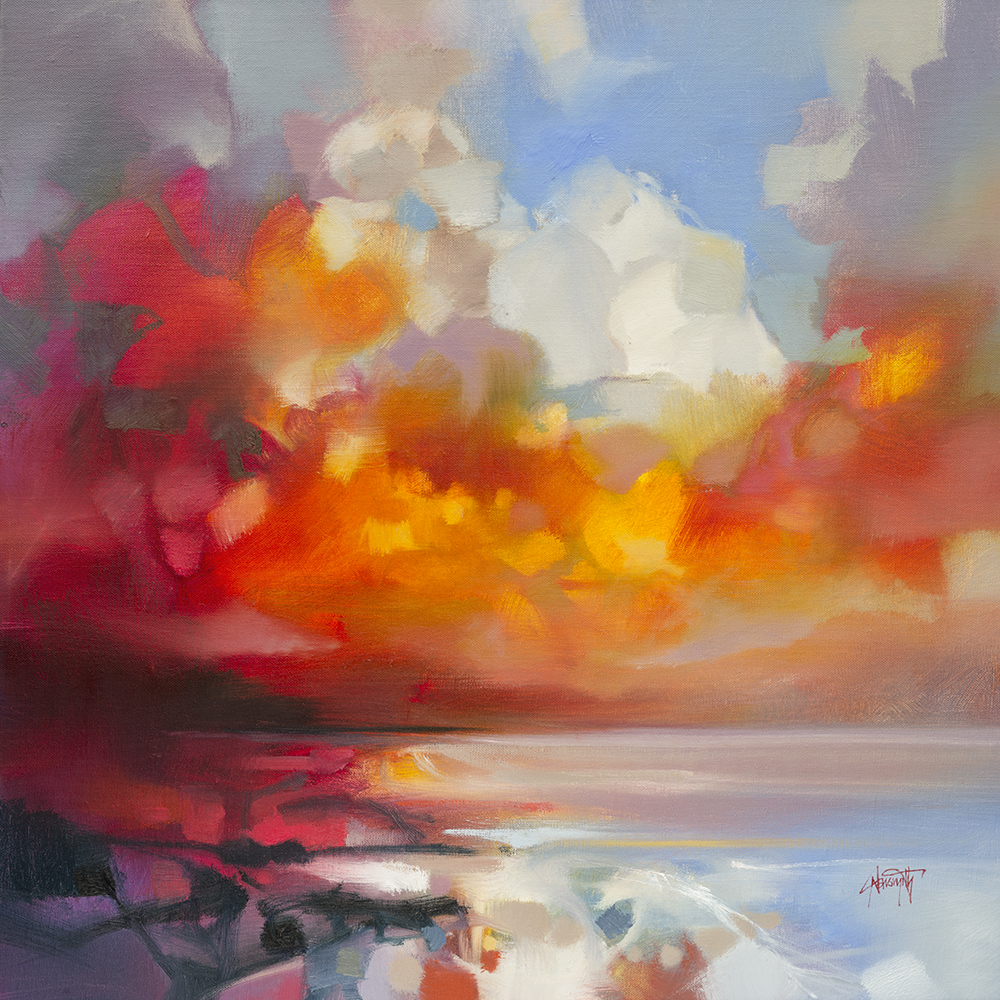 60cm Red Transition by Scott Naismith