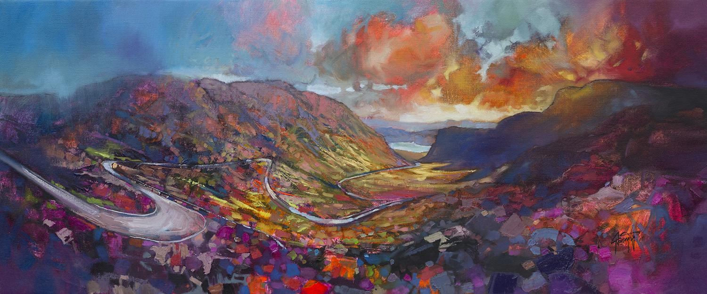 Applecross Pass by Scott Naismith