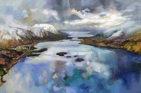 Loch Leven by Scott Naismith - Limited Edition Paper Print
