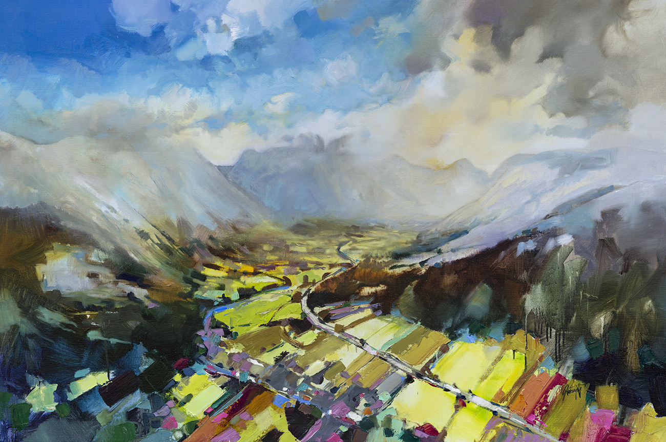 Glencoe Rising by Scott Naismith - Limited Edition Paper Print