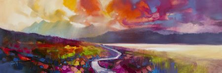 Raasay Road by Scott Naismith - Limited Edition Paper Print