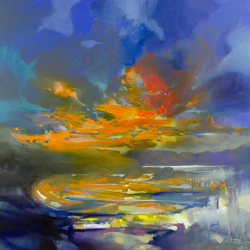 100 x 100cm Loch Sween Resonance