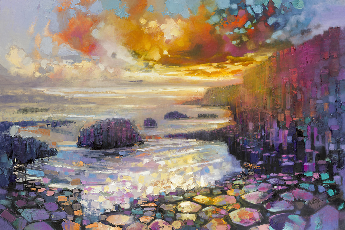 Giant s Causeway by Scott Naismith - Limited Edition Paper Print afd893a83792f