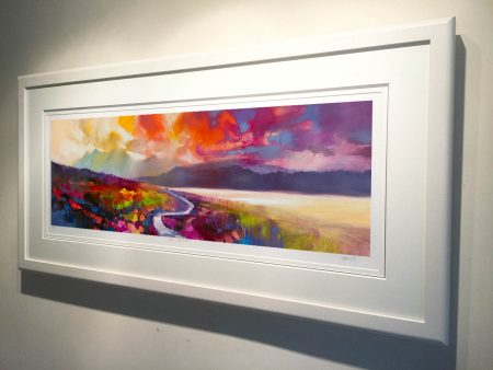 Framed Raasay Road by Scott Naismith - Limited Edition Paper Print