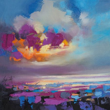 Magenta Sky Study 3 by Scott Naismith - Limited Edition Canvas Print
