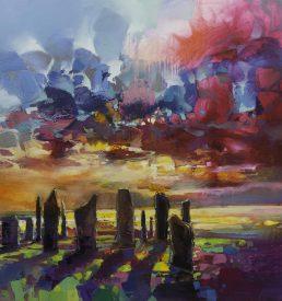 Callanish Stones by Scott Naismith