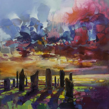 Callanish Stones by Scott Naismith