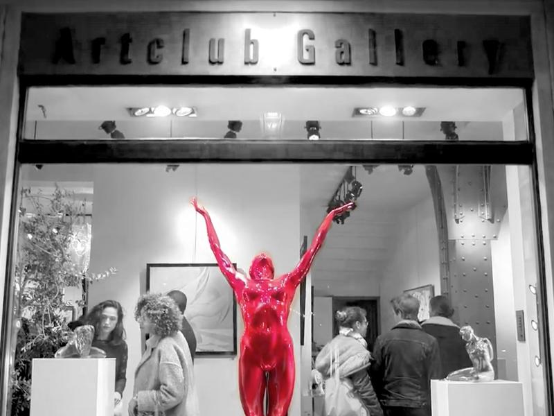 Artclub Gallery, Rue de Rivoli, Paris