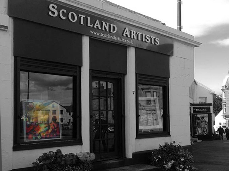 Scotland Artists, Bothwell, nr Glasgow