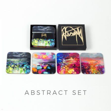 Coaster set - Abstract