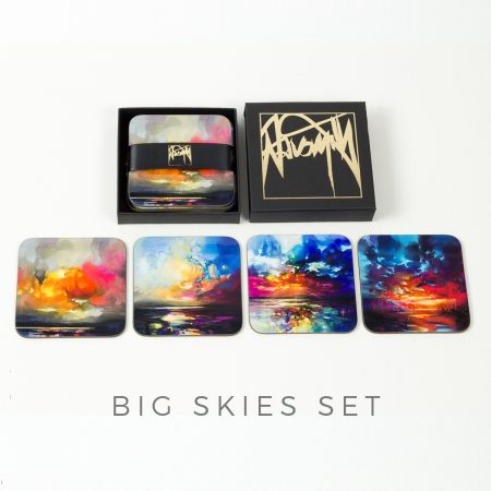 Coaster set - Big Skies