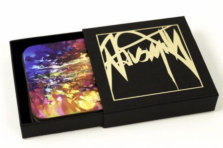 Boxed Coaster Set - Abstract