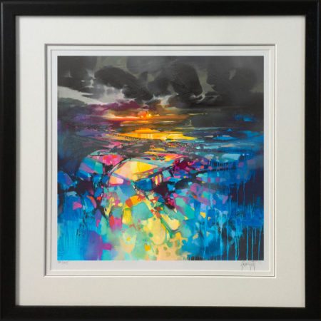 Colour from Darkness by Scott Naismith - framed BLACK